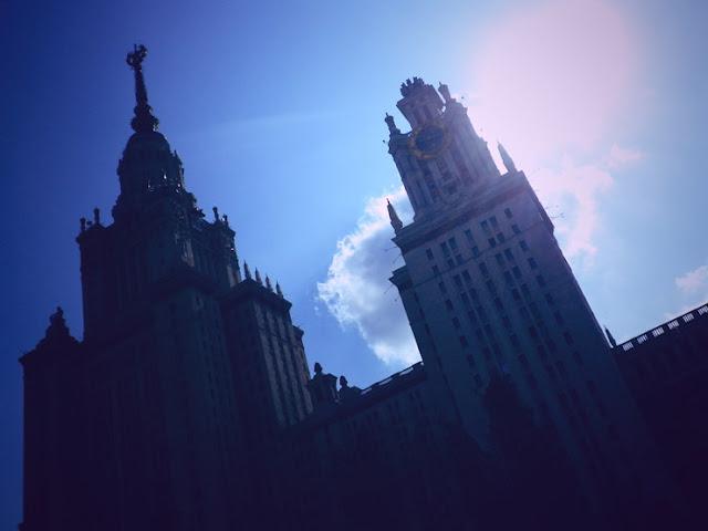 Moscow tourist