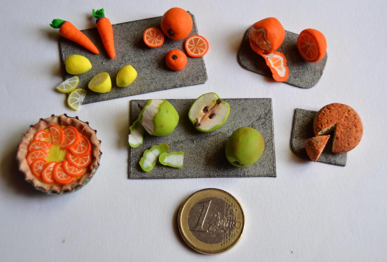 Miniaturas, arcilla polimérica, polymer clay, fimo