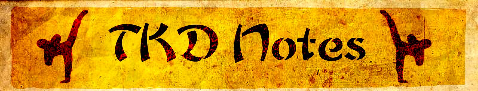 TKD Notes