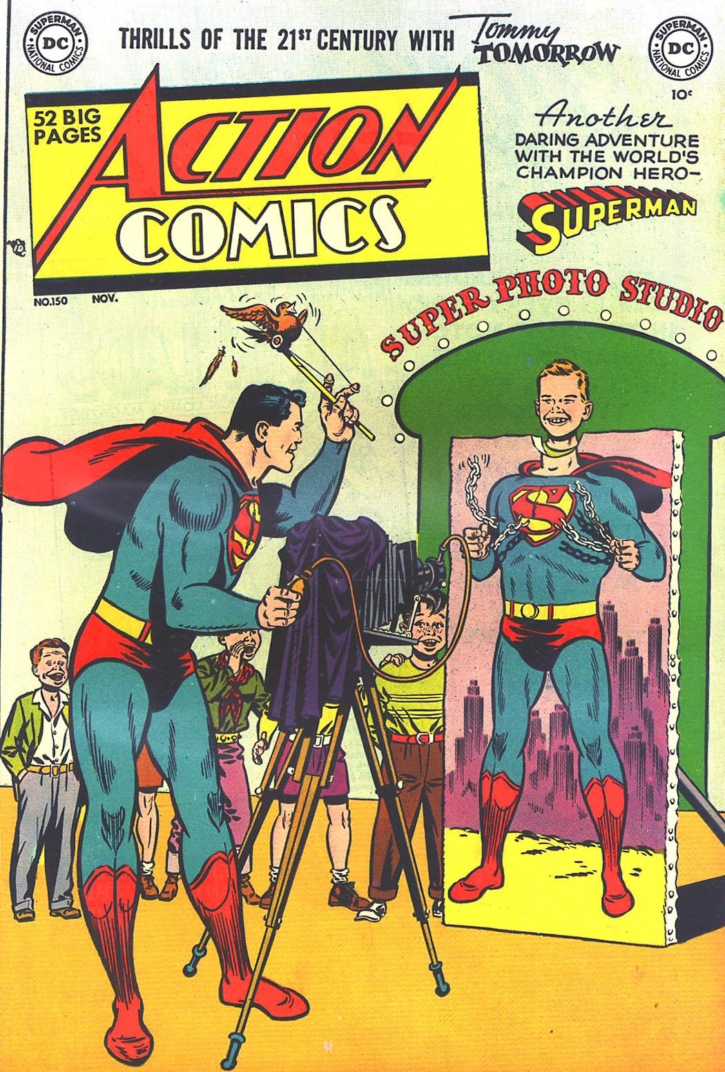 Action Comics (1938) 150 Page 1