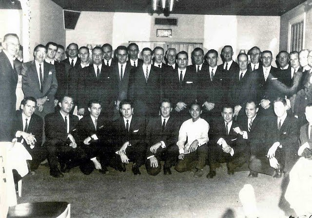 Secret Service school, approx 1958- Blaine, Johnsen, Landis, Wells, Lawson, etc