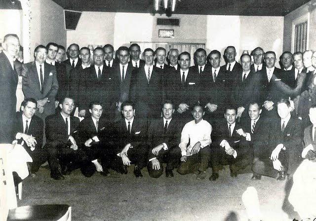 Secret Service school, approx 1958- Blaine, Johnsen, Landis, Wells, Lawson, etc