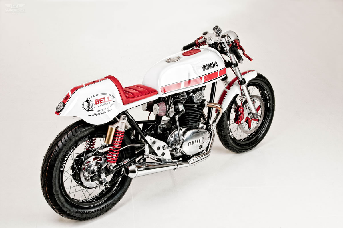 Racing Caf U00e8  Yamaha Xs 650 By Wheely Shop