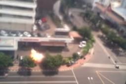 Video Detik-detik Ledakan BOM di Jakarta Gedung Sarinah Tamrin 2016