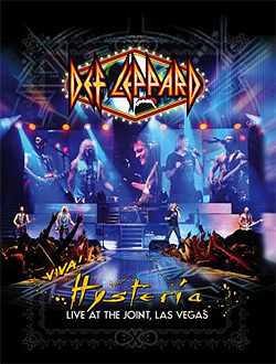 Def Leppard VIVA! Hysteria Live At The Joint, Las Vegas – CD y DVD 2013