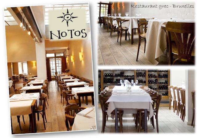 Voyager en Grèce sans quitter Bruxelles - Grèce gourmande - NOTOS - Restaurant grec à Ixelles - Bruxelles-Bruxellons