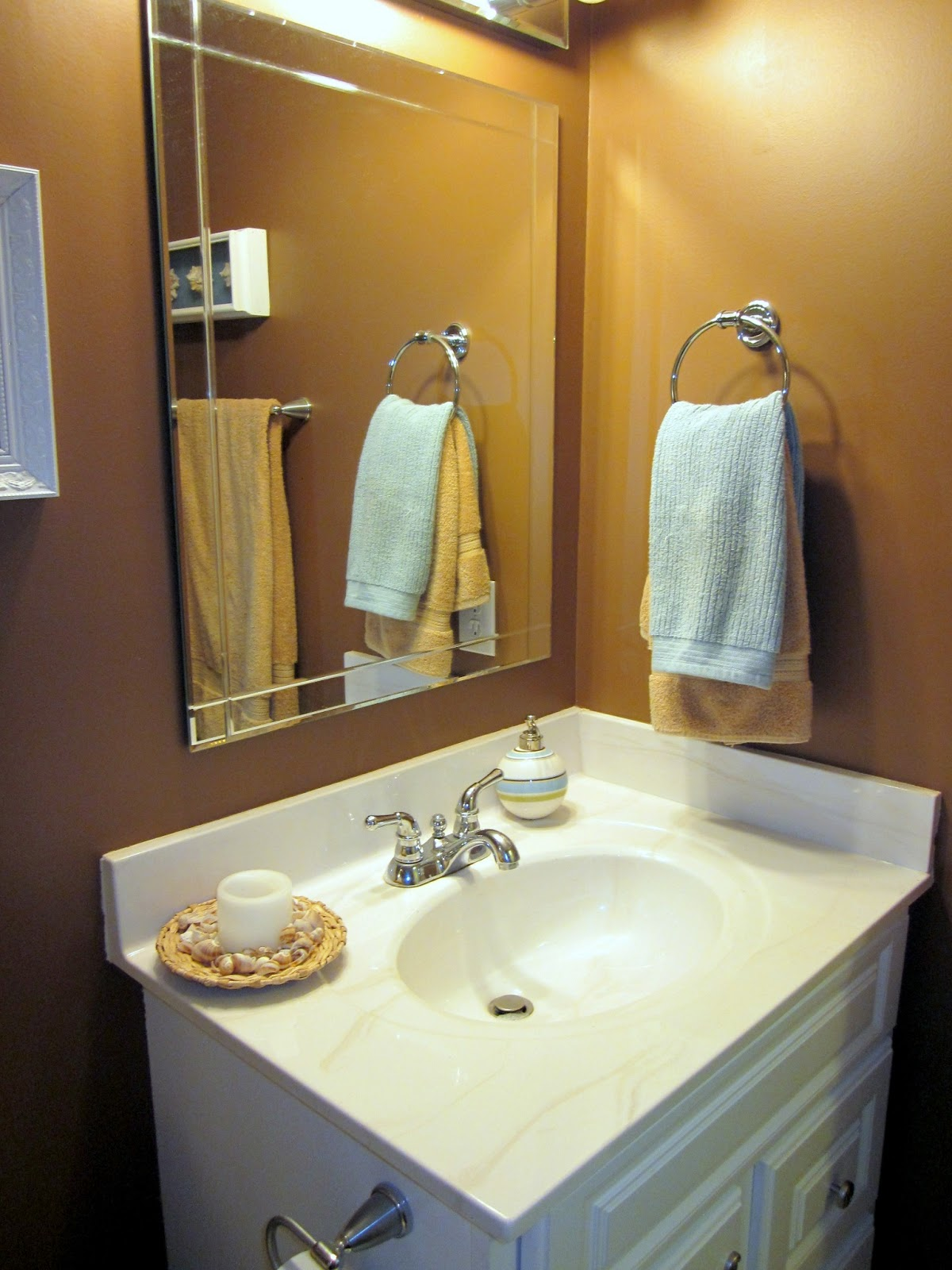 A peachtree city life bathroom upgrade rainwashed for Bathroom upgrades