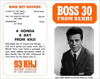 KHJ Boss 30 No. 36 - Gary Mack