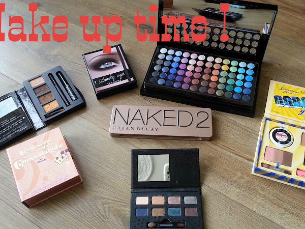Make up Time : vive les jolies palettes
