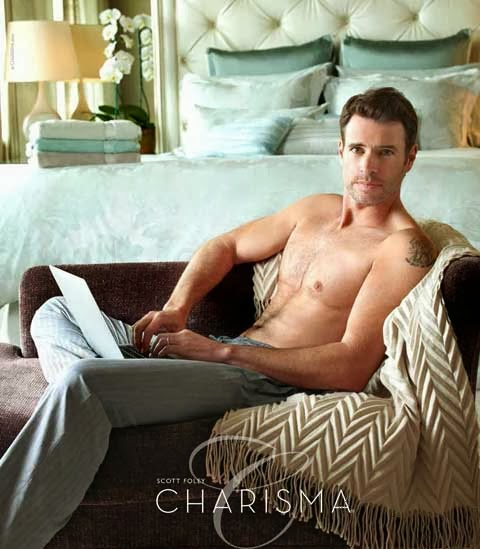 Scott Foley gives you body in this still from his shirtless photo shoot for Charisma