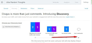 Disqus Turn Off Discovery Use Just Comments