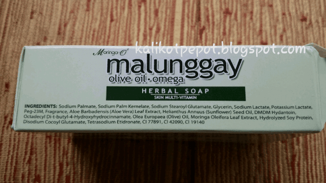 Moringa O2 Herbal soap box
