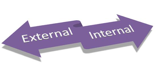 perhatikan eksternal dan internal linking dalam artikel