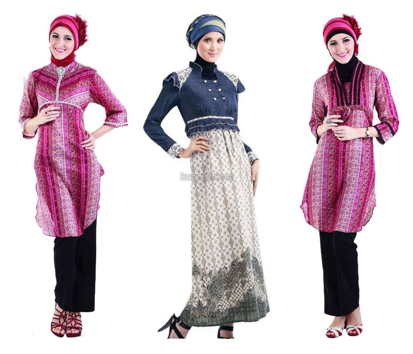 Gambar model busana muslim paling trendi dan cantik