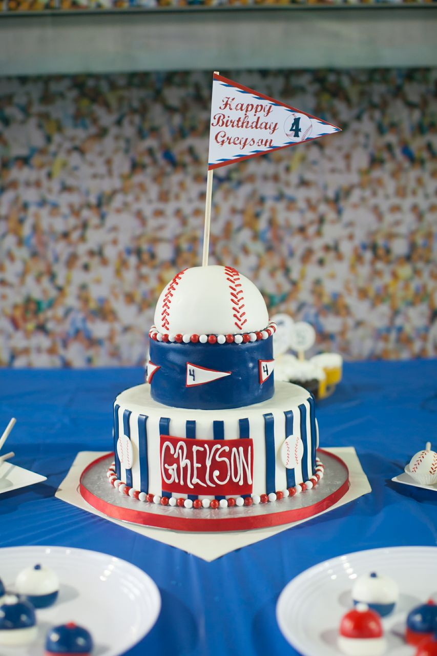 BellaGrey Designs Greysons Baseball Party Featured Party
