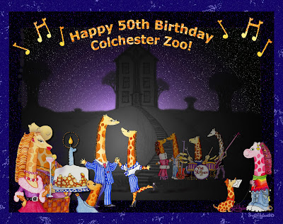 Happy 50th Birthday Colchester Zoo! Stand Tall