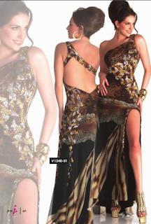 Vestido Sexy de Fiesta para Fin de Año 2012