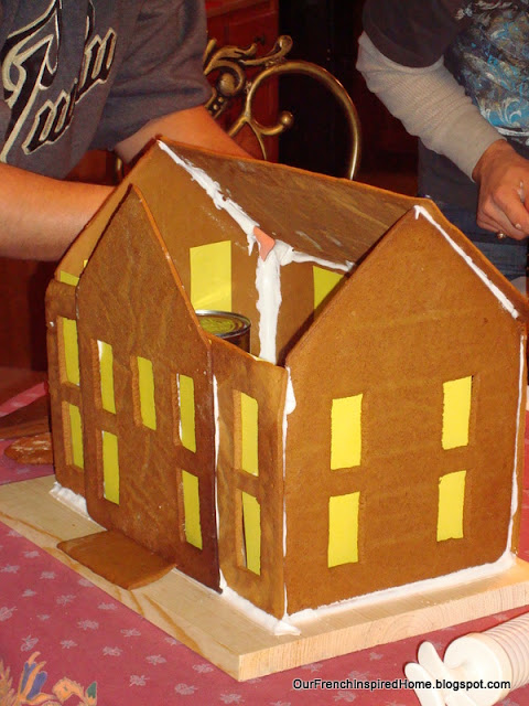 gingerbread house assembly instructions