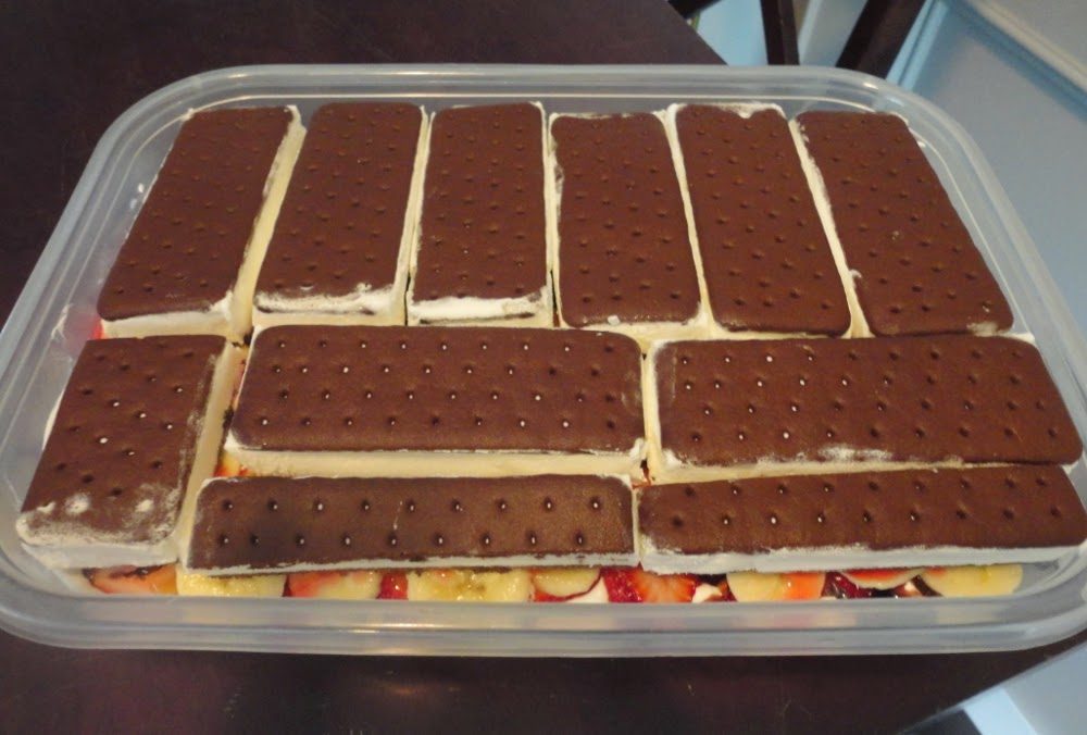 how to cut up ice cream sandwiches