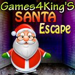 Games4King Santa Escape 2014