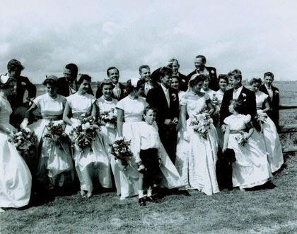 Foto pernikahan John F. Kennedy dan Jacqueline