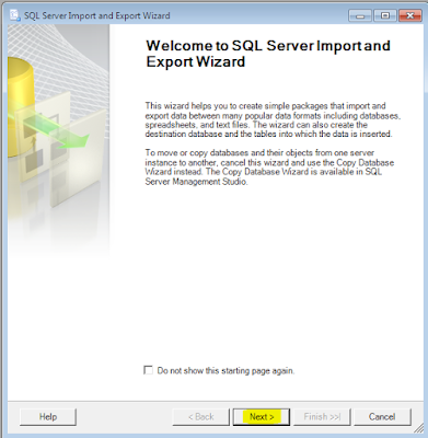 Cara Convert Database SQL Server ke Excel