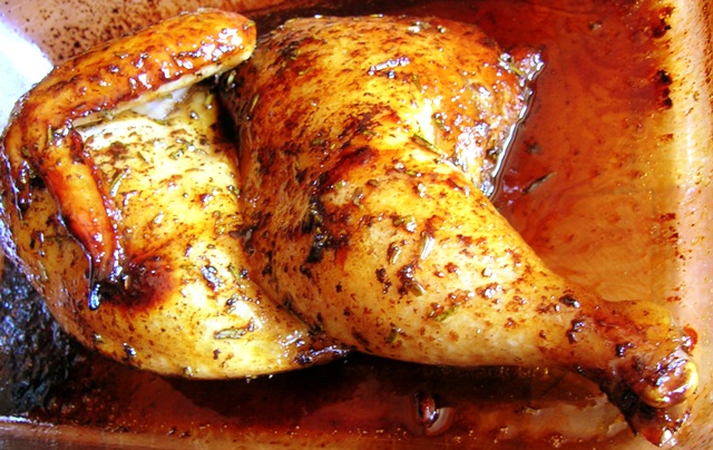 ... Tested Recipes From Alice's Kitchen: Balsamic-Honey Marinated Chicken