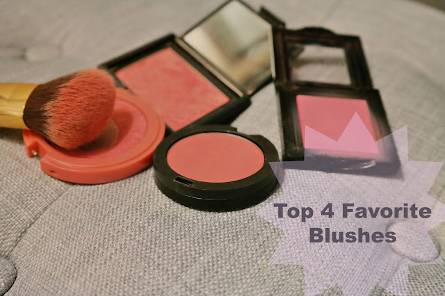 Top 4 Favorite Blushes