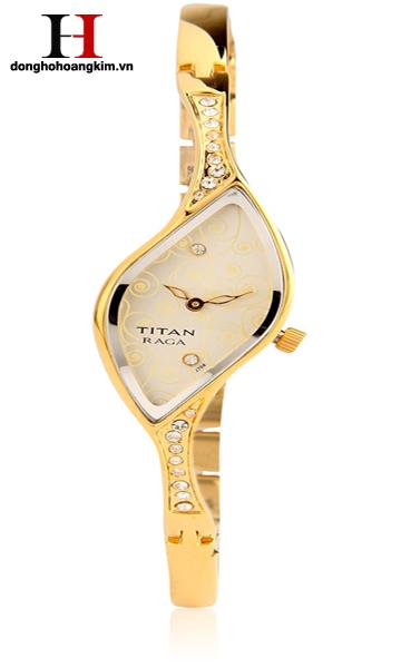 Đồng hồ nữ đính đá Titan đẹp nhất 2015