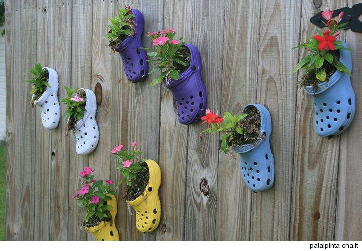 How to recycle recycled hanging decor for Flower pot made by waste material