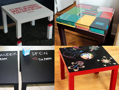 Lack table - Customisations