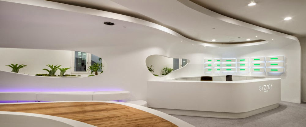 Dise o interior estilo org nico for Estilos de oficinas