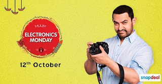 SnapDeal Electronics Monday