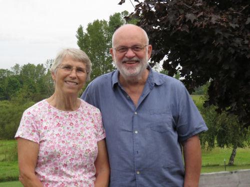 Chuck and Sylvia