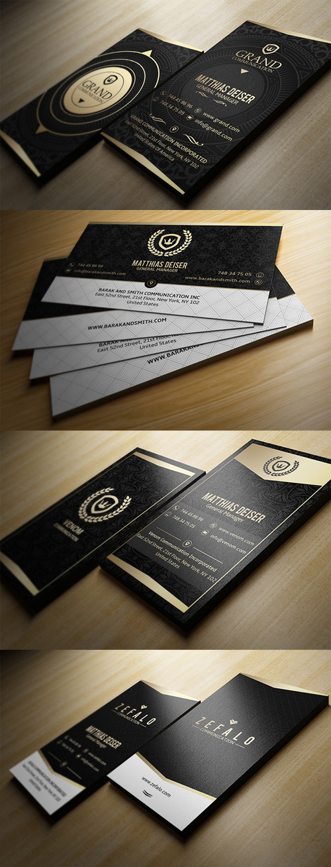 Elegante tarjeta de presentación