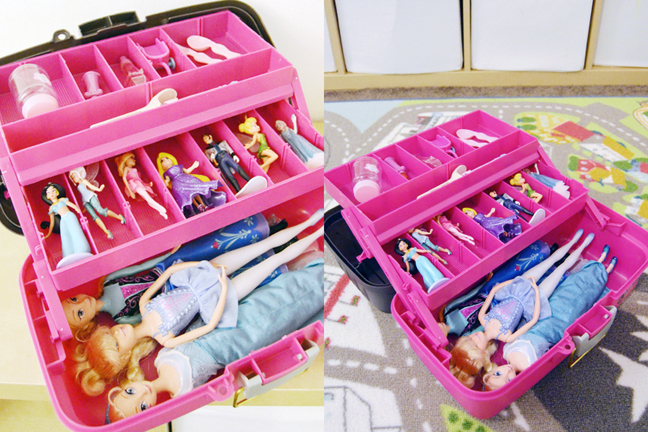 The One With Creative Options Storage Solutions Paige Taylor Evans - Barbie doll storage ideas