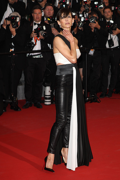 90109d9ff396 Let Them Talk  Celebrities wearing Christian Louboutin at the 68th Annual  Cannes Film Festival