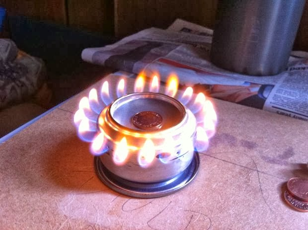 Alcohol  Can  penny stove
