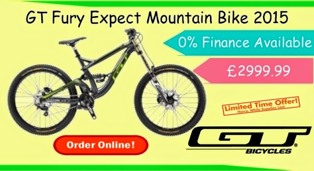 2015 Mountain Bike: GT Fury Expect