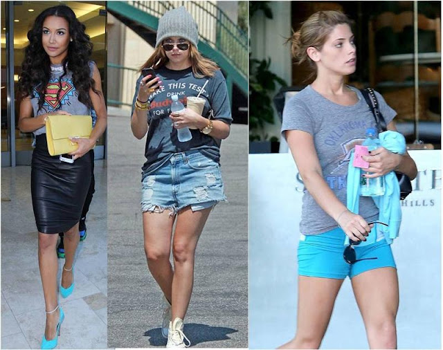 Celebrity Looks: Young Hollywood Loves Junk Food Tees