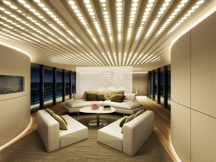 It Is A Place Where Most Of The Family Time Is Spent, And It Is Advisable  To Add Lights That Bounce Off The Ceiling And Create Ambient Illumination.