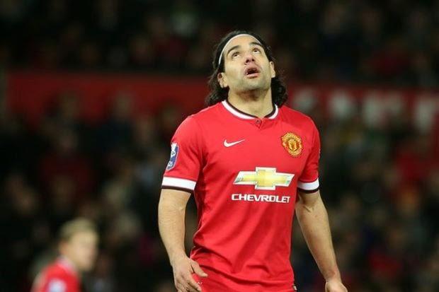 Radamel Falcao Tinggalkan Manchester United, info, terkini, sukan, bola sepak, Man united, Radamel Falcao