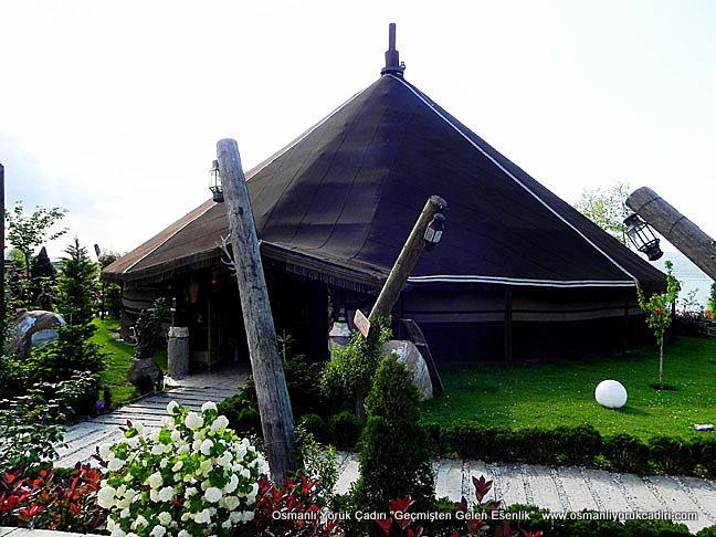 Değişik amaçlarla kullanabileceğiniz türkmen çadır modeli