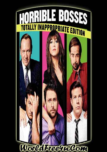 Poster Of Horrible Bosses (2011) Full Movie Hindi Dubbed Free Download Watch Online At Downloadingzoo.Com