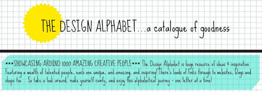 the design alphabet