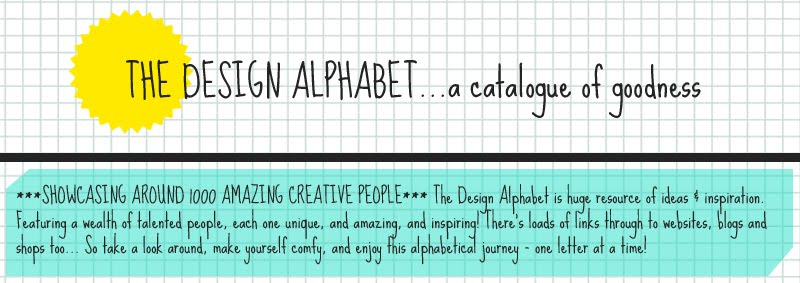 the design alphabet