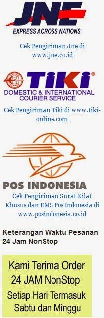 Kurir Kiriman yang digunakan: