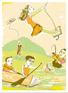 Ilustração de Kim Rosen