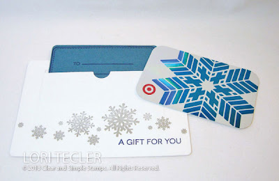 Holiday Gift Card-designed by Lori Tecler-Inking Aloud-stamps and dies from Clear and Simple Stamps
