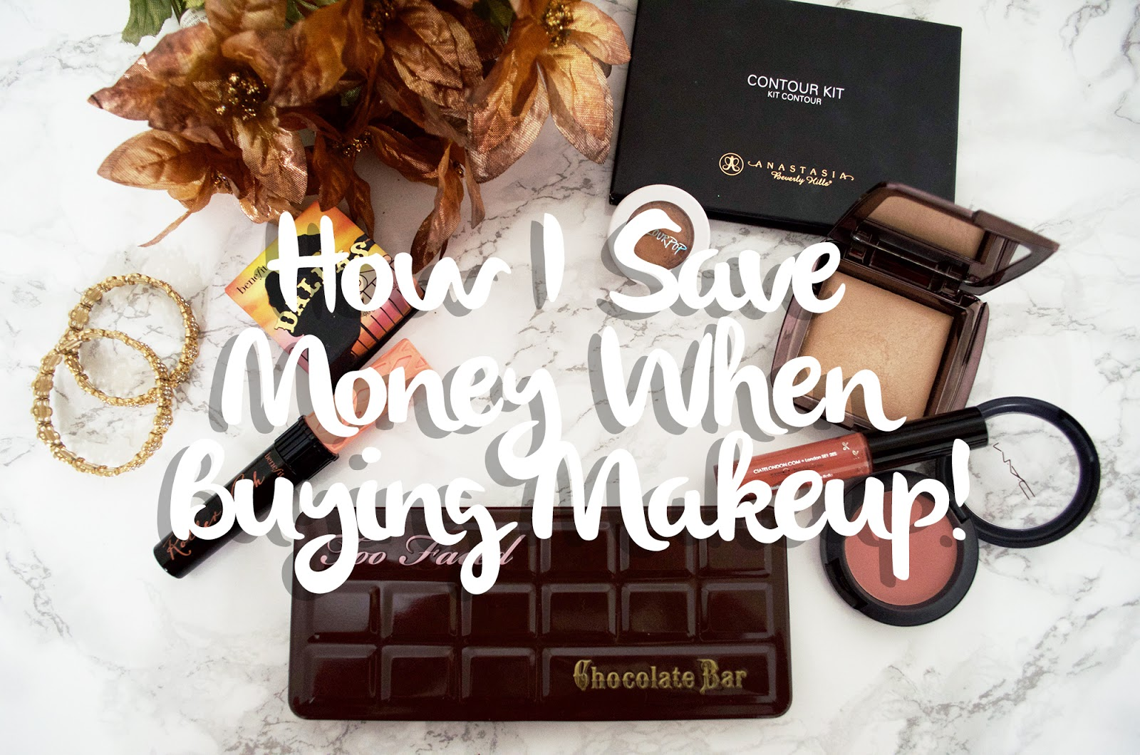 How I Save Money When Buying Makeup